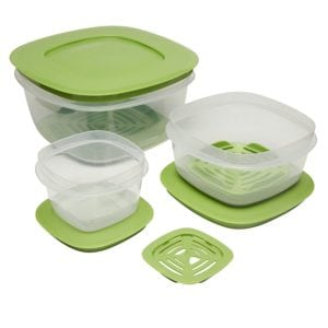 Produce Saver Food Storage Containers make it so easy to eat vegetables every day.