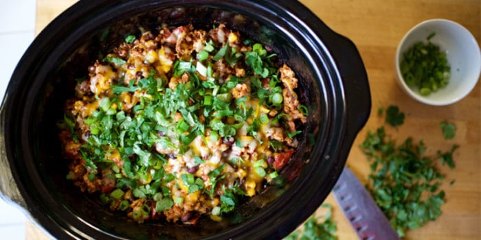 Slow Cooker Cheesy Chicken Enchiladas a Healthy Meal Planning Recipe