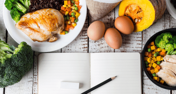 Food you can prep using 10 Easy Meal Planning Hacks