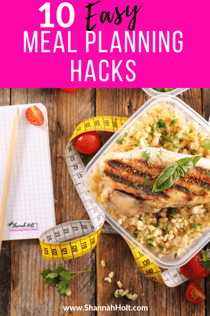 One of the many heathy meals you can make using the 10 easy meal planning hacks