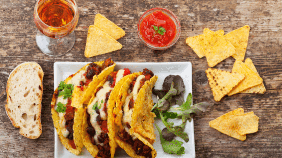 Meal Planning Hack themed dinner Taco Tuesday could look like