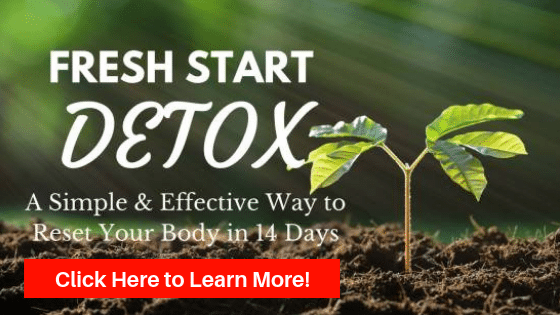 A plant growing out of the ground in the sunlight. Fresh Start Detox a simple and effective way to reset your body in 14 days. Click here to learn more.