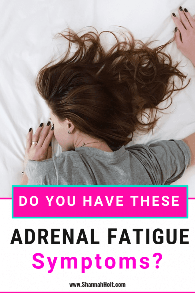 Woman passed out asleep due to adrenal fatigue symptoms causing her to feel so exhausted.