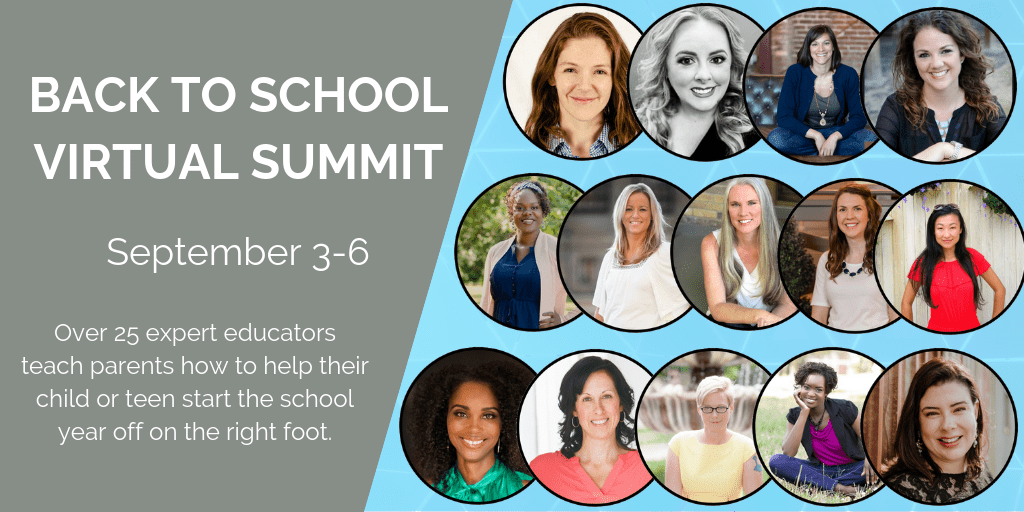 BACK TO SCHOOL SUMMIT is September 3-6