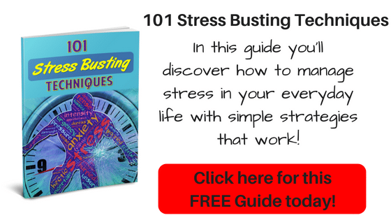 I LOVED THIS!! It had so many great tips for relieving stress. Don't hesitate to download this 101 Stress Busting Techniques Guide you will find so many useful strategies!