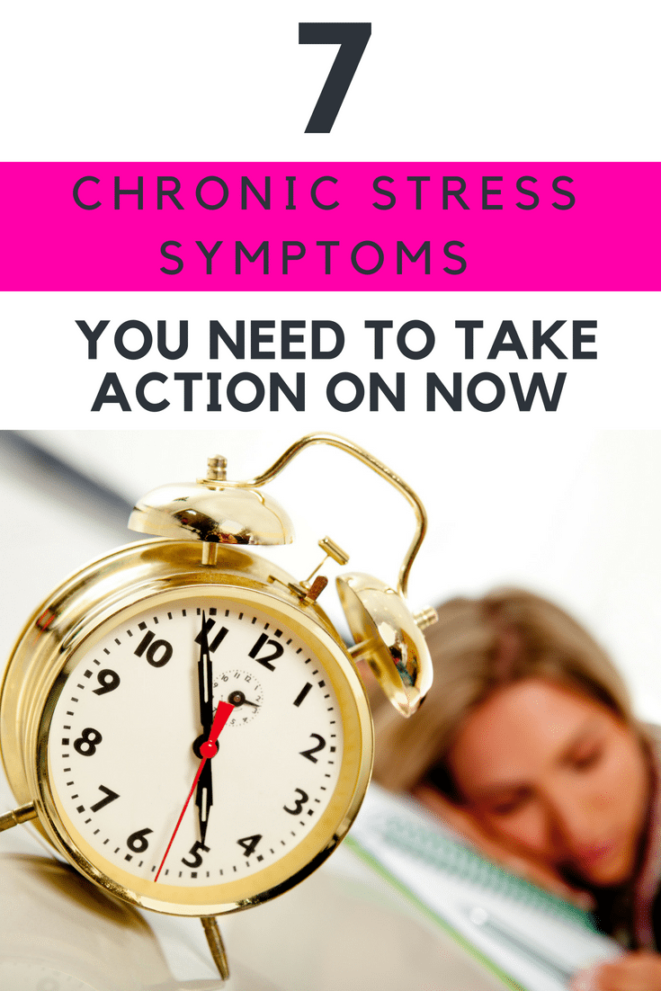 WOW! I didn't know I had this many chronic stress symptoms! This was such an eye opener!