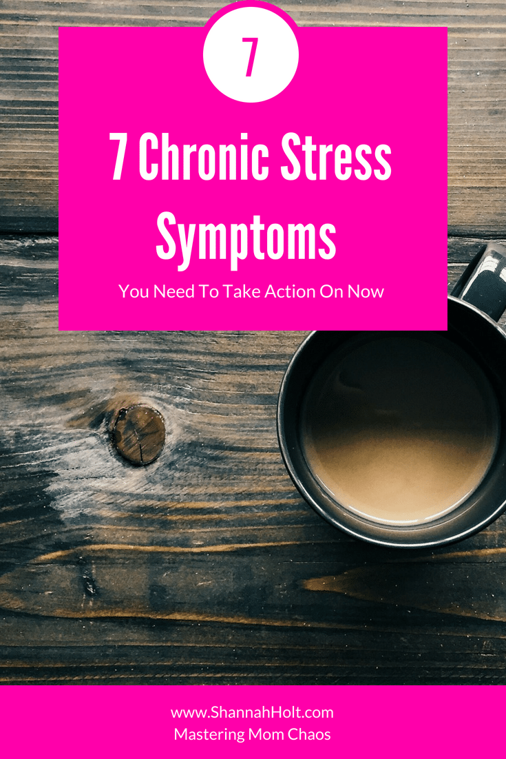 Hit the nail on the head with this one! I didn't know I had this many chronic stress symptoms! This blog was such an eye opener to me!