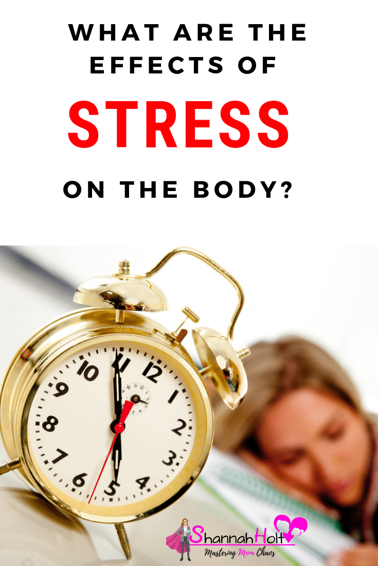 Wow I didn't know there were so many effects of stress on the body. This was so informative!