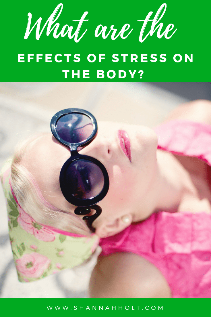 No wonder I feel like crap! I didn't know there were so many effects of stress on my body each day. This blog was an eye opener for my health.