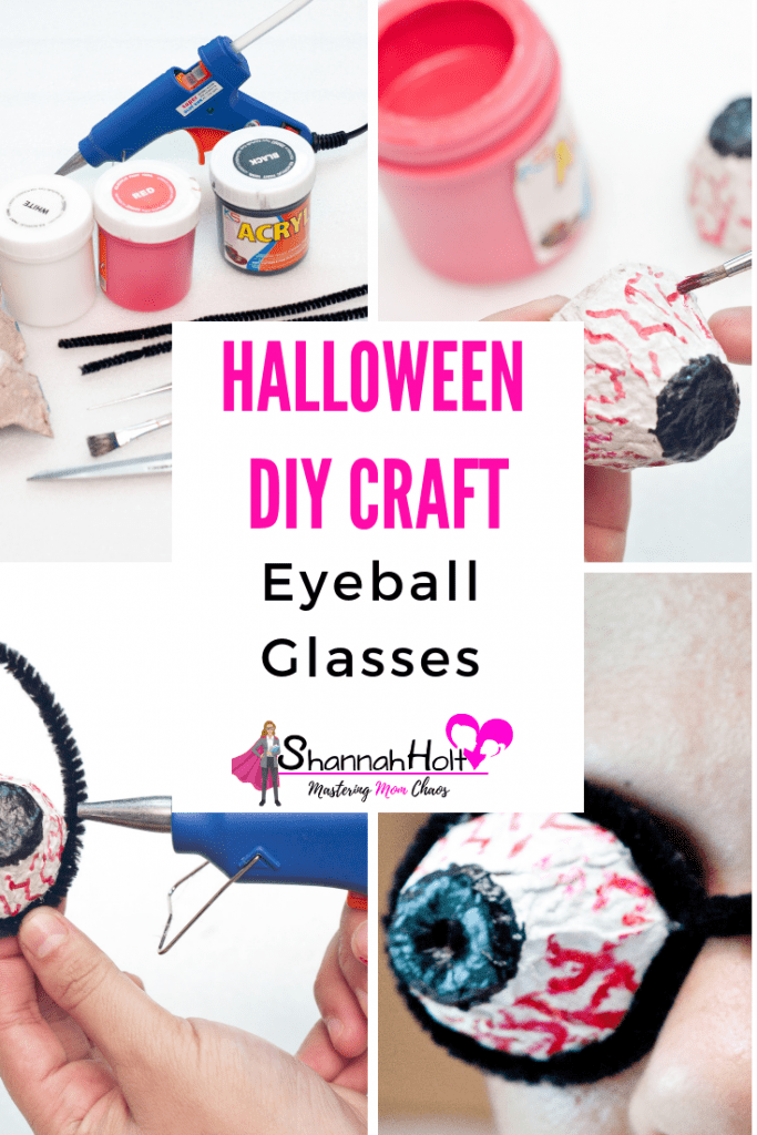 Our family really enjoyed doing this Halloween DIY project together! You should try making these eyeball glasses too!