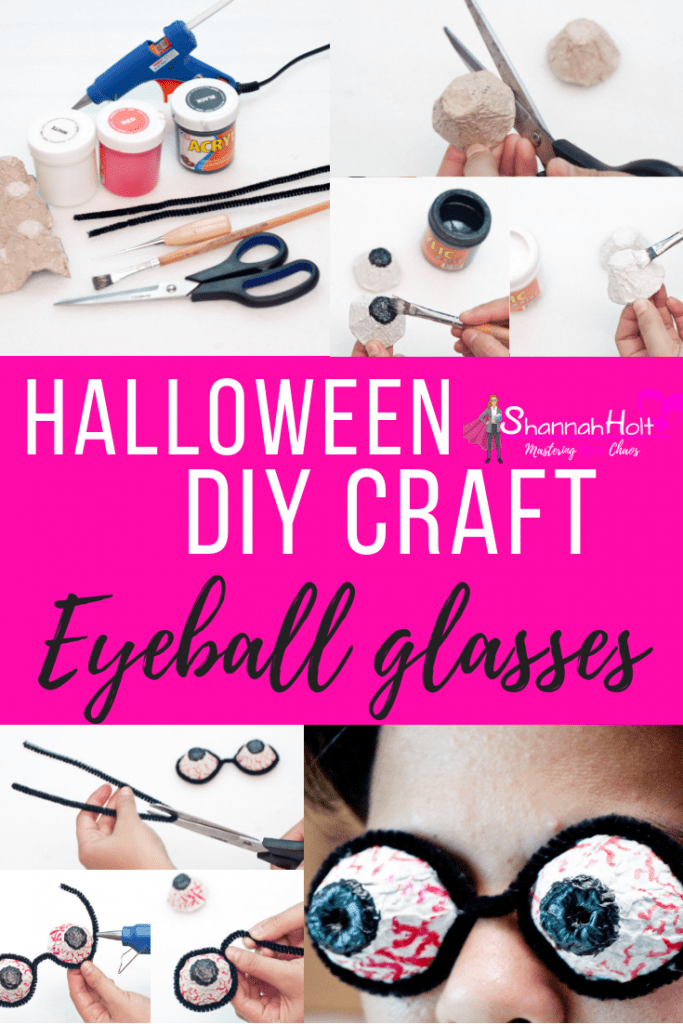 This Halloween DIY Craft was so fun for our family to do! Now we all have Eyeball glasses unique to each of us.