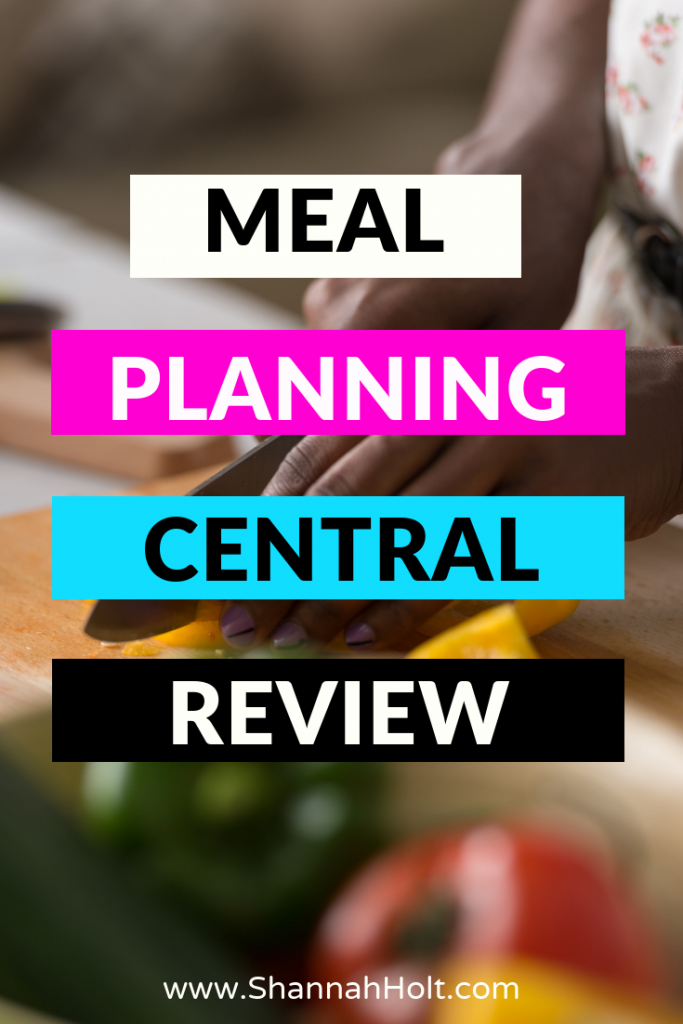 Meal Planning Central Review