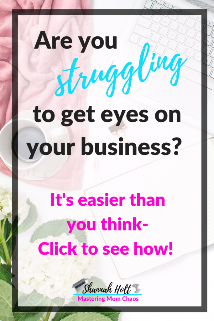 Are you struggling to get eyes on your business? Network with other bloggers it is easier than you think click to see how!