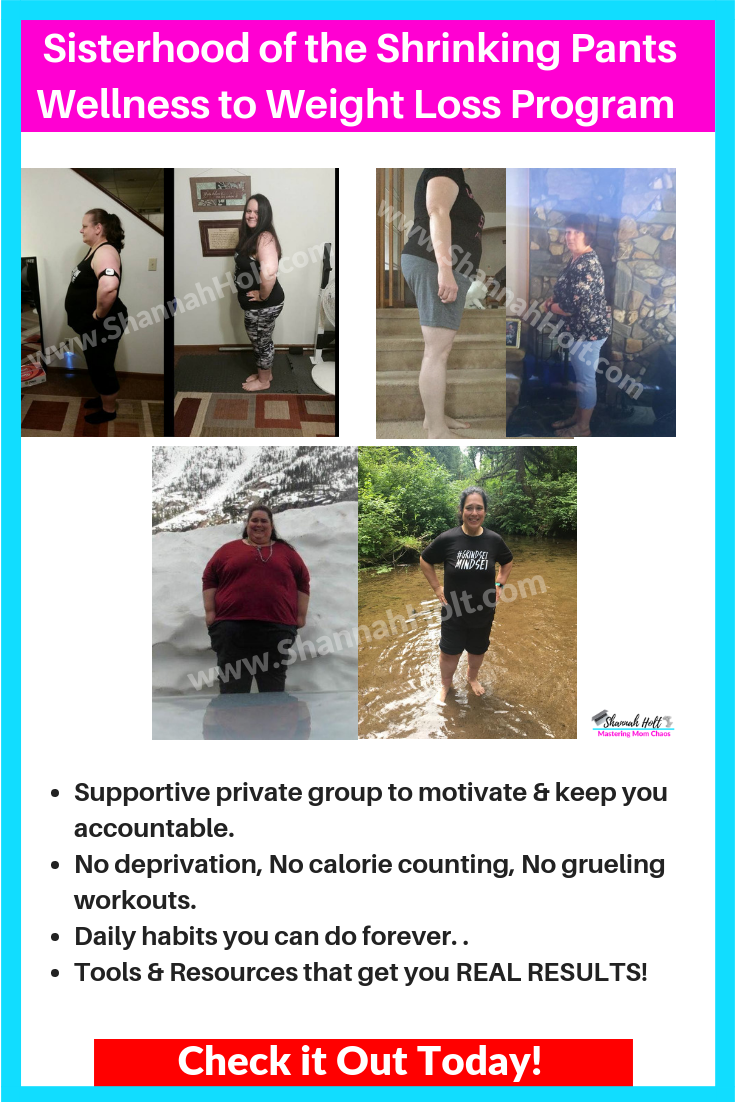 3 weight loss transformations that happened in the sisterhood of the shrinking pants wellness to weight loss program.